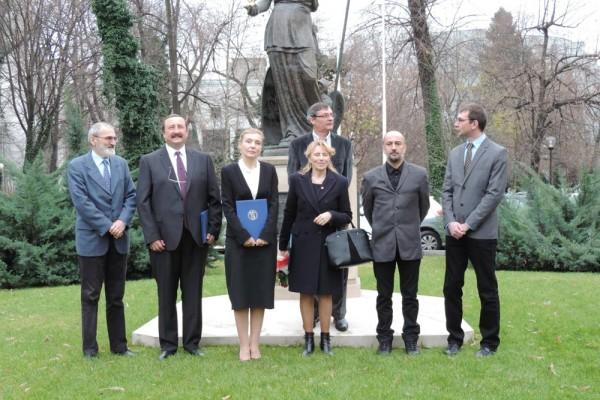 """Decernarea Premiului Academiei Române """"Nicolae Teclu"""""""